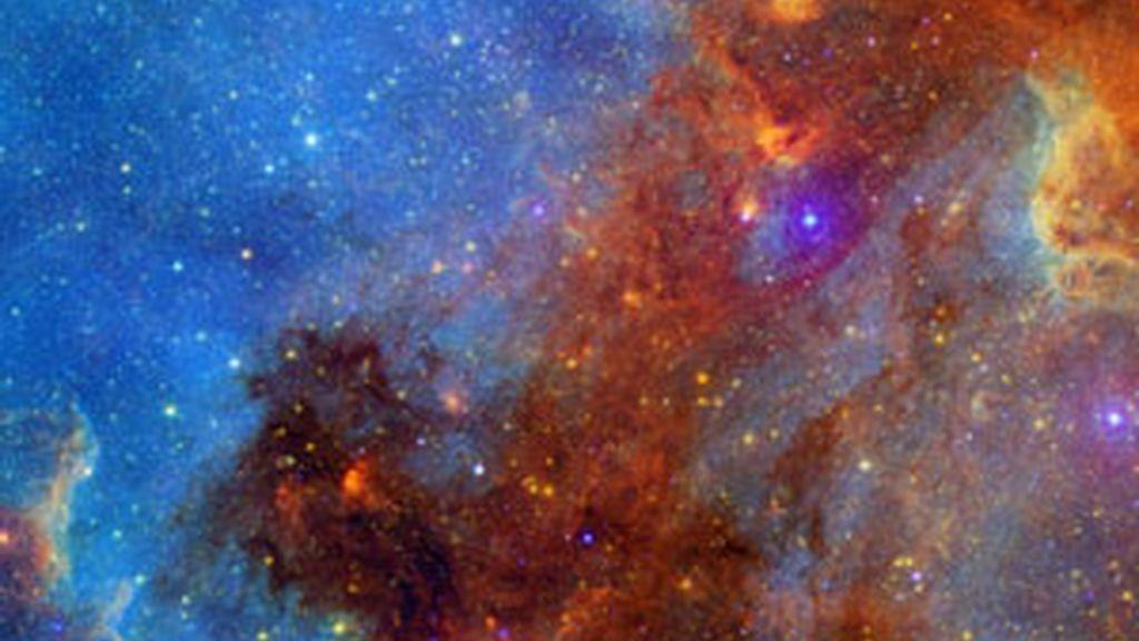 Imagen tomada por el telescopio espacial Spitzer. Foto: Gtres/NASA