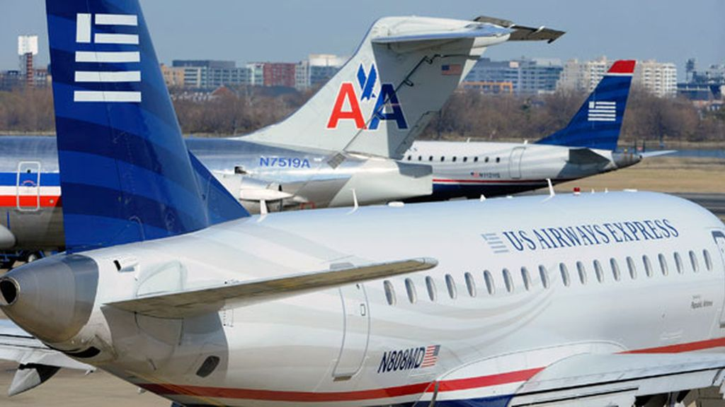 American Airlines y US Airways ierran su fusión