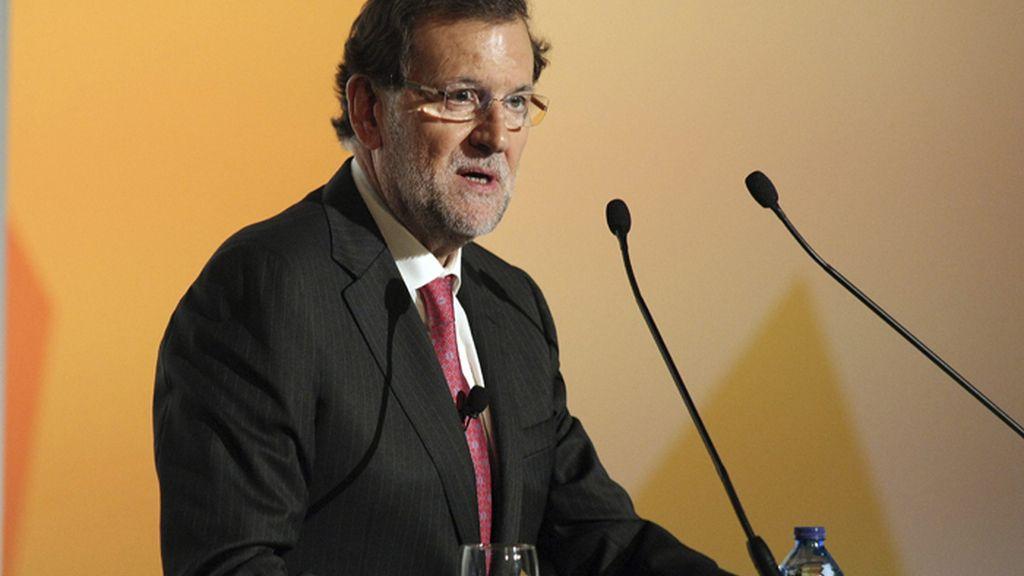 El presidente del Gobierno, Mariano Rajoy, clausura el Congreso de la Empresa Familiar