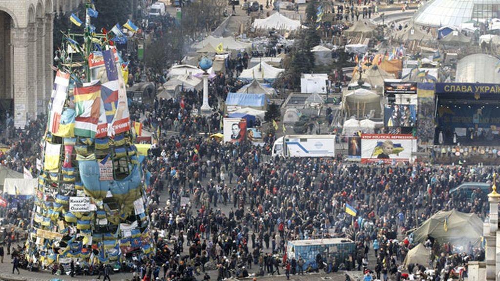 Ucrania, en pie de guerra