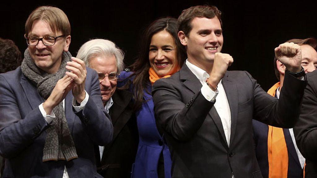 Albert Rivera en el cierre de campaña, Ciudadanos