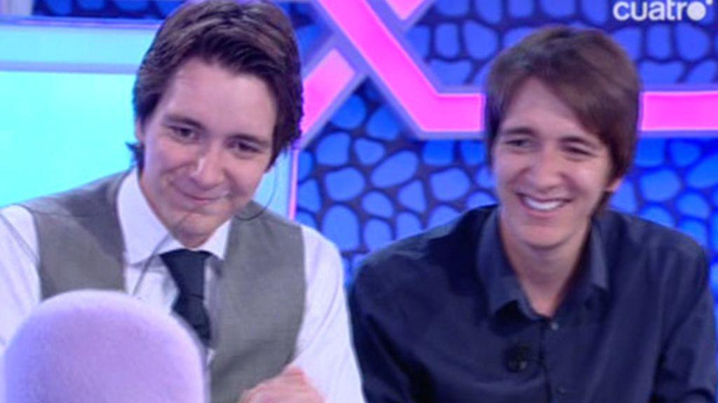 Los gemelos Phelps de Harry Potter pasaron la prueba de Trancas y Barrancas