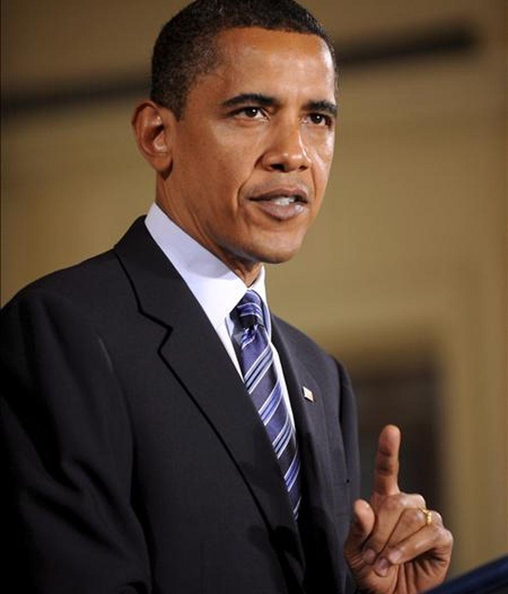 El presidente de los Estados Unidos, Barack Obama. EFE