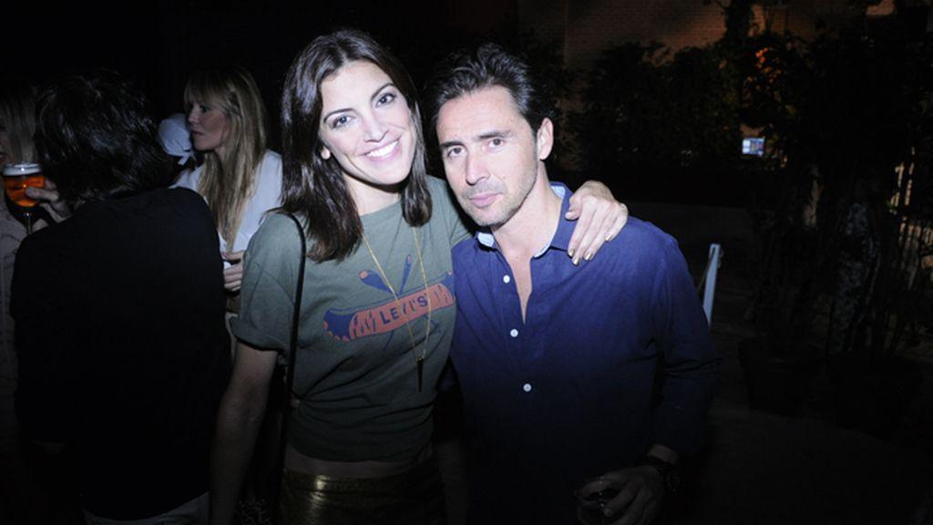 Jimena Mazucco junto a Moncho Moreno