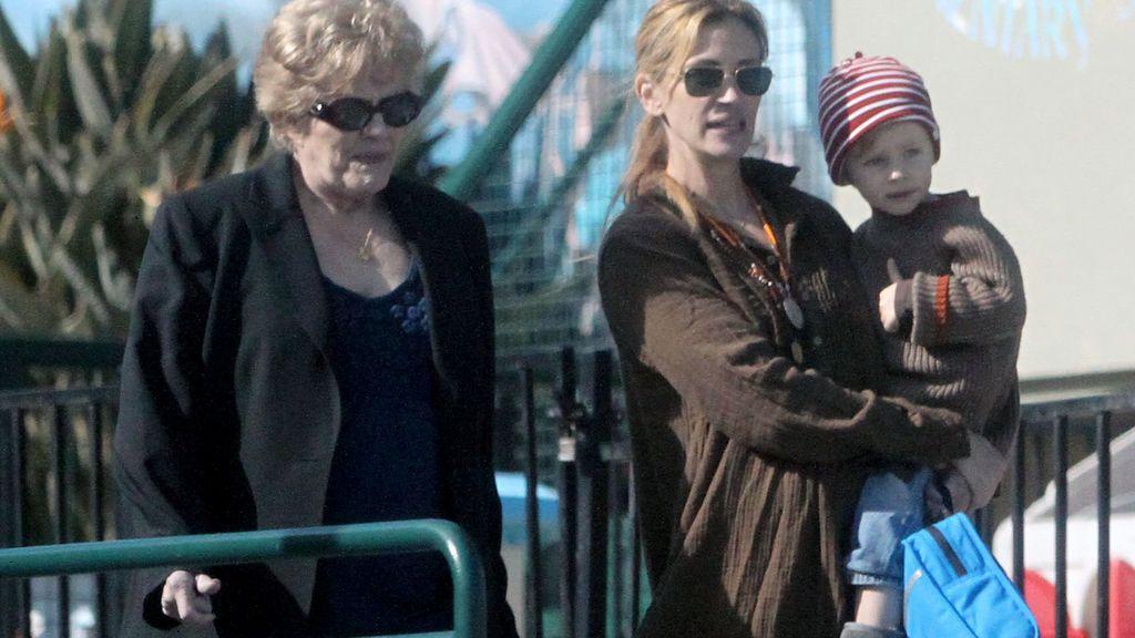 Julia Roberts y su madre