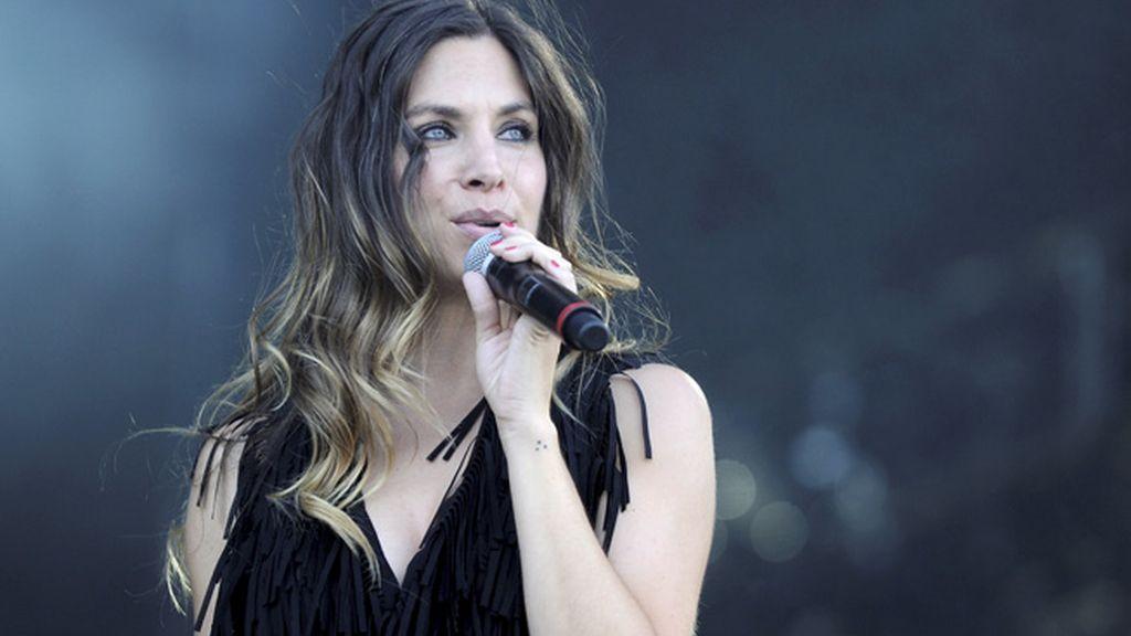 Leire, la cantante del grupo 'La Oreja de Van Gogh'