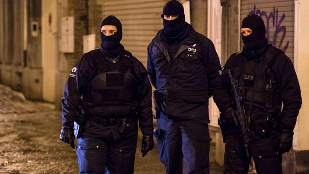 Operación contra el terrorismo yihadista en Bélgica