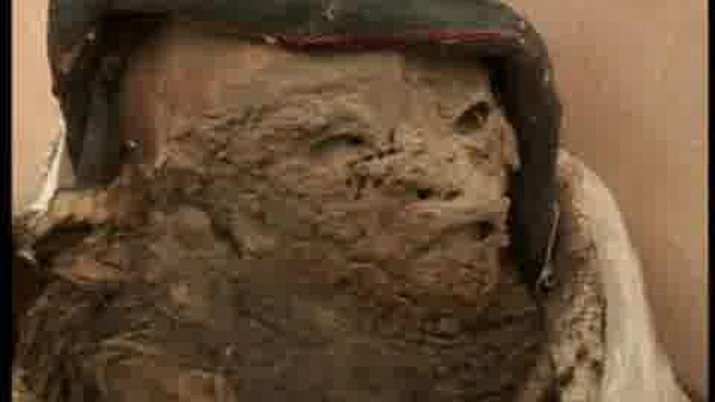 Una momia por correo
