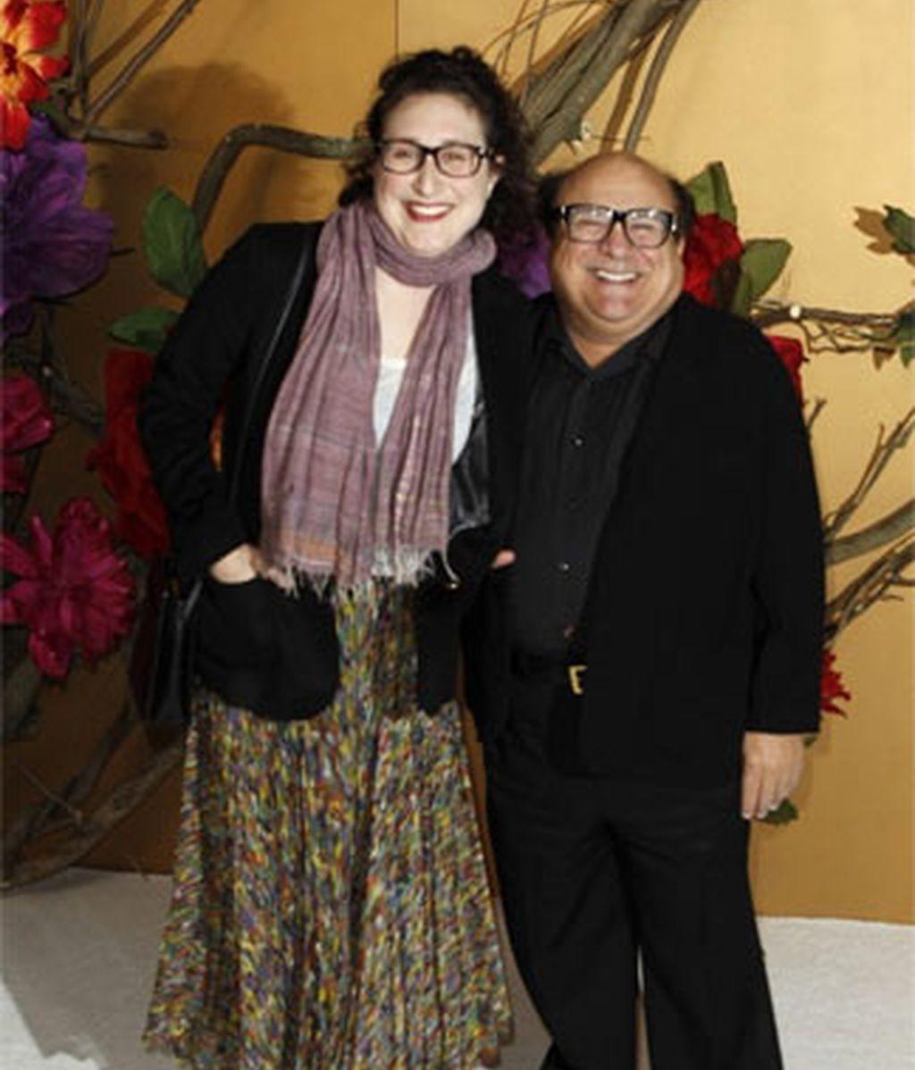 Danny DeVito con su hija, Gracie DeVito