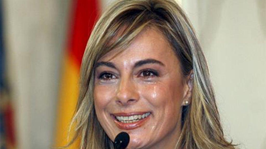 Sonia Castedo, alcaldesa de Alicante (PP)