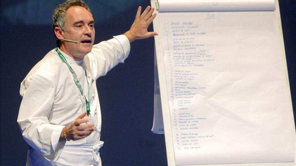 El cocinero catalán Ferrán Adriá. EFE/Archivo