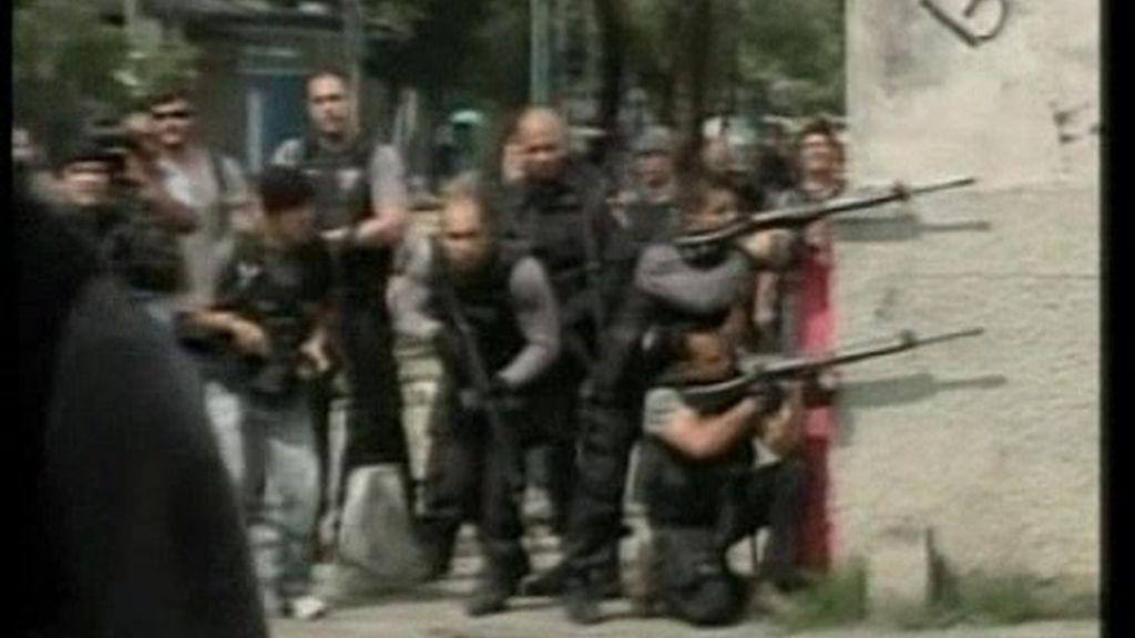 La Policía toma el control de las favelas brasileñas