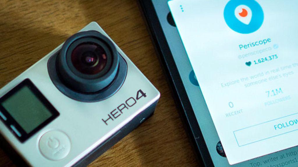 Periscope para iOS, Periscope, cámara GoPro, GoPro