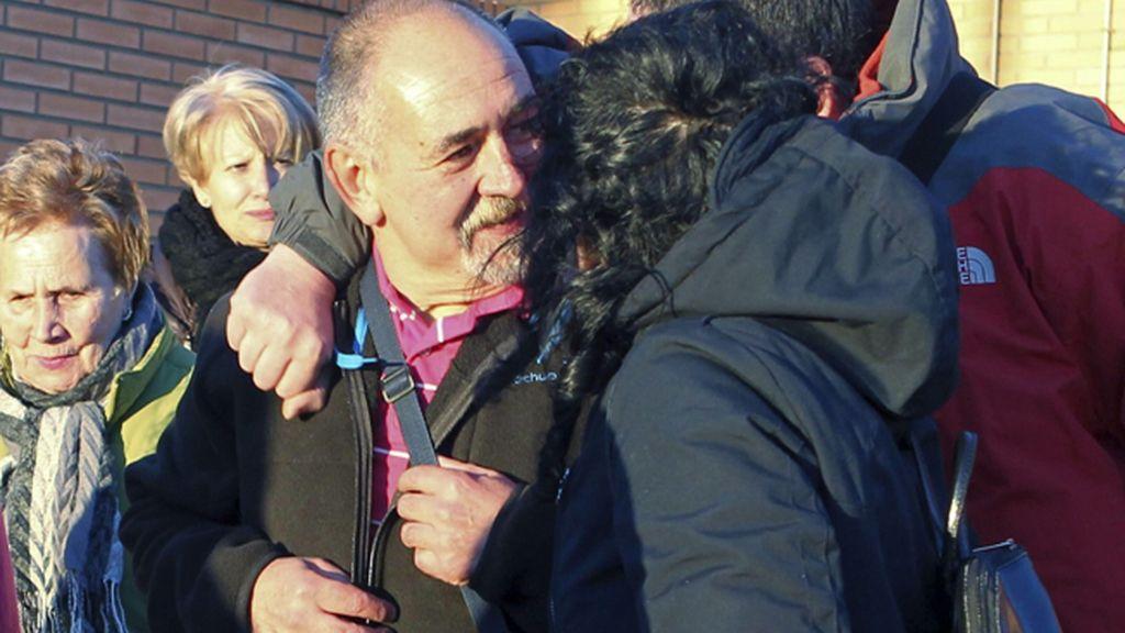 El preso de ETA Orotegui sale de la cárcel de Zuera