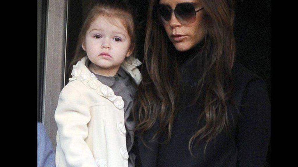 Harper Seven, hija de Victoria Beckham y David Beckham