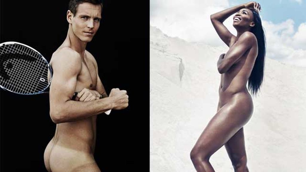 Los dos tenistas se desnudan por las enfermedades físicas