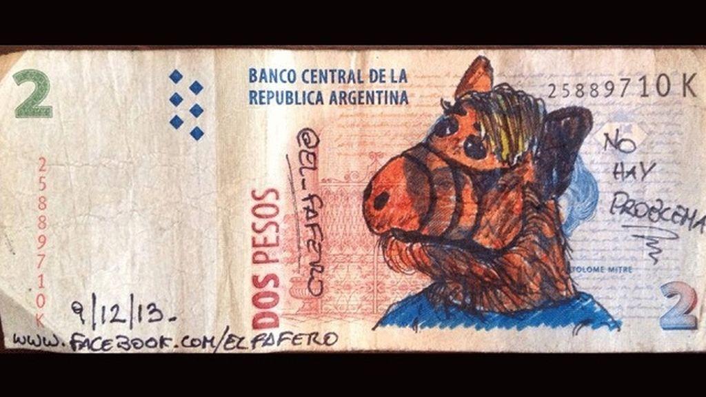 Arte en los billetes argentinos