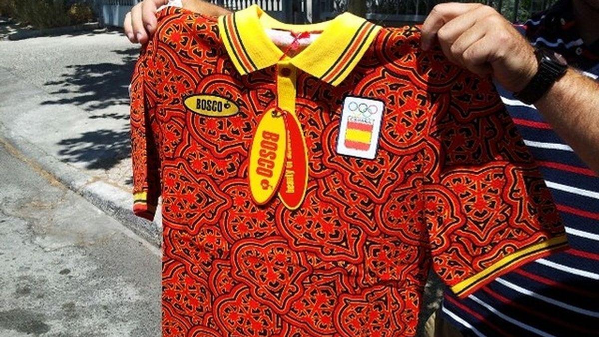 Camiseta equipación Juegos Olímpicos
