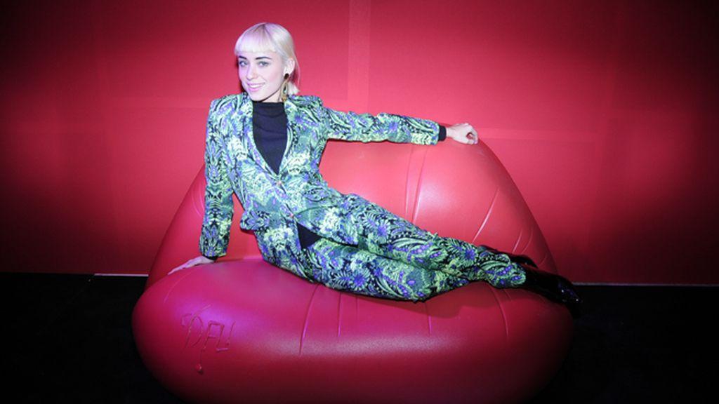 Miranda Makaroff acudió a la fiesta con este traje de Sister Jane