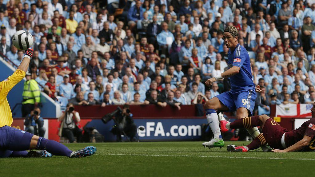 Fernando Torres gol ante el Chelsea