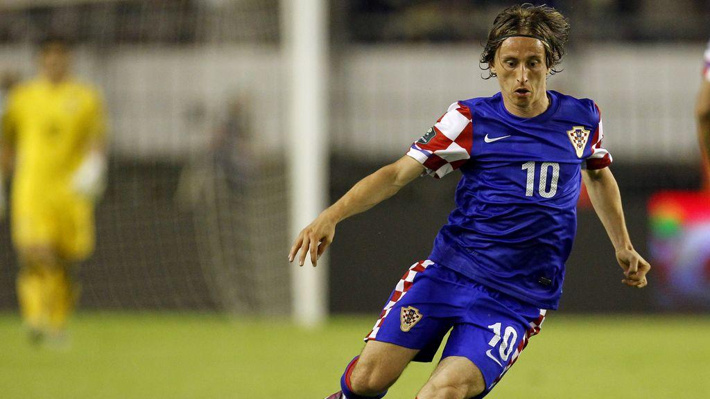 Luka Modric, el crack de Croacia