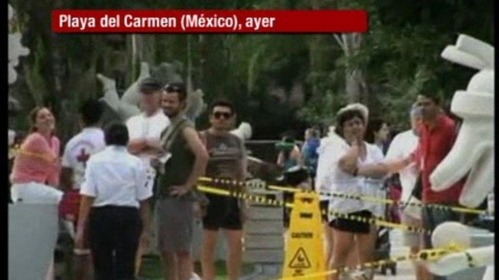 Explosión en un hotel en  la Riviera Maya