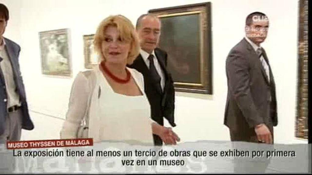Tita Cervera inaugura un museo en Málaga