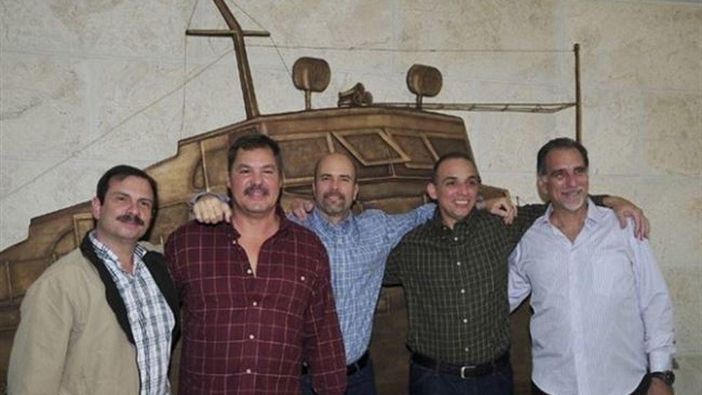 'Los Cinco' espías detenidos y encarcelados por EEUU se reencuentran en La Habana 16 años después