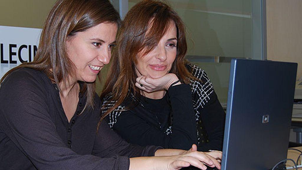 Encuentro digital con Maca y Esther