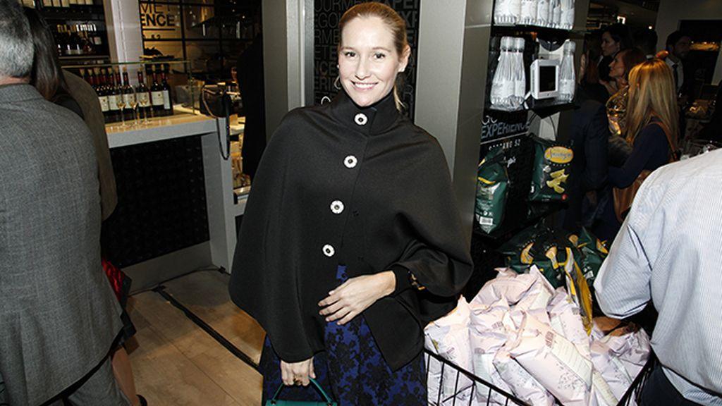 Fiona Ferrer, muy estilosa con este look de Silvia Tcherassi
