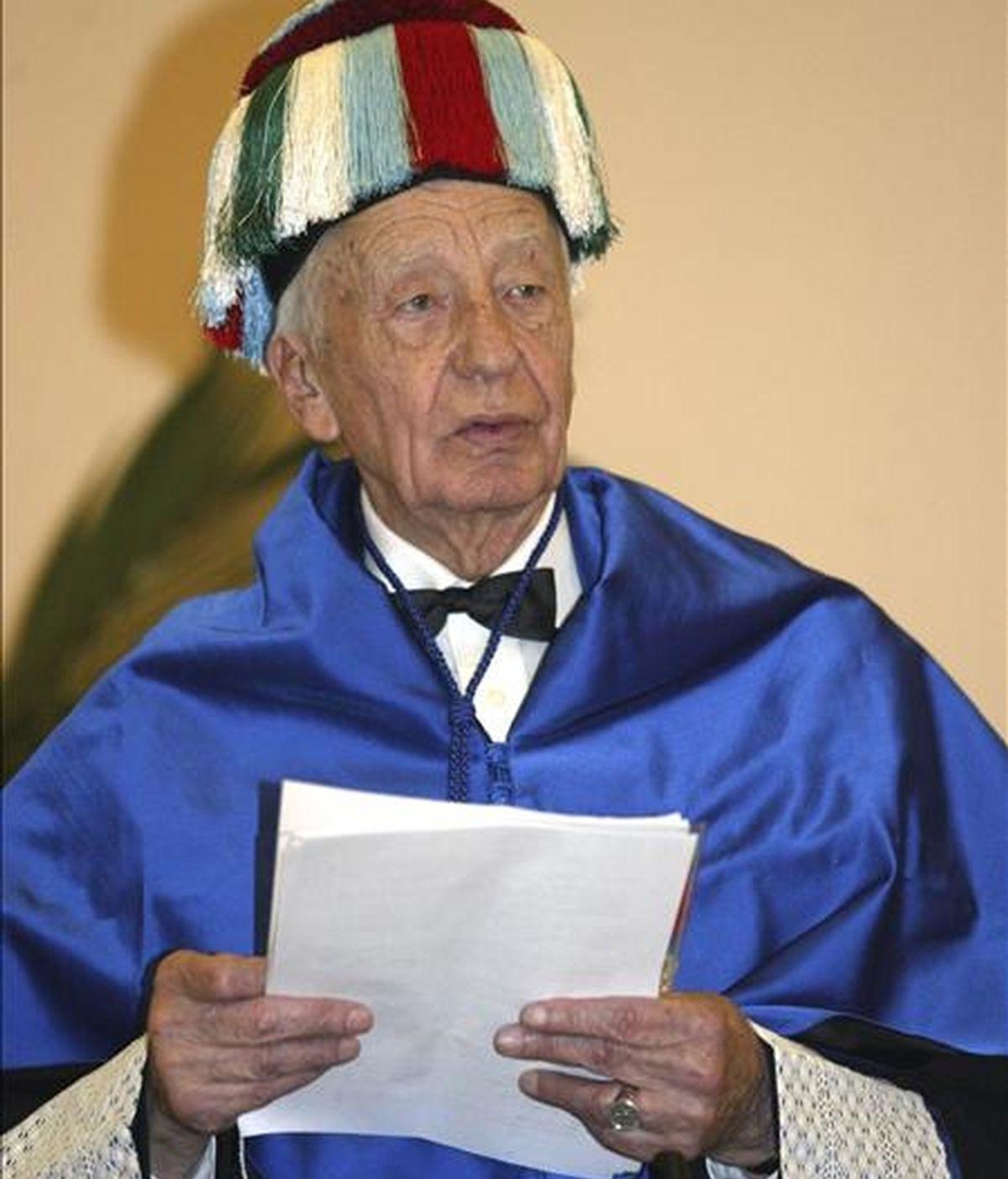 El científico francés Jean Dausset, en una fotografía de 2004. EFE
