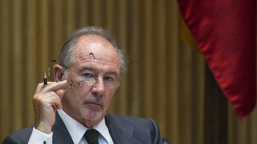 Rodrigo Rato comparece ante el parlamento
