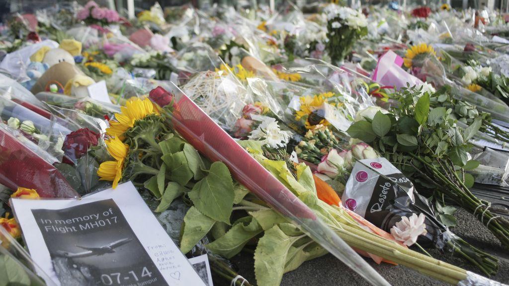 Homenaje a las víctimas del MH17 de Malaysia Airlines