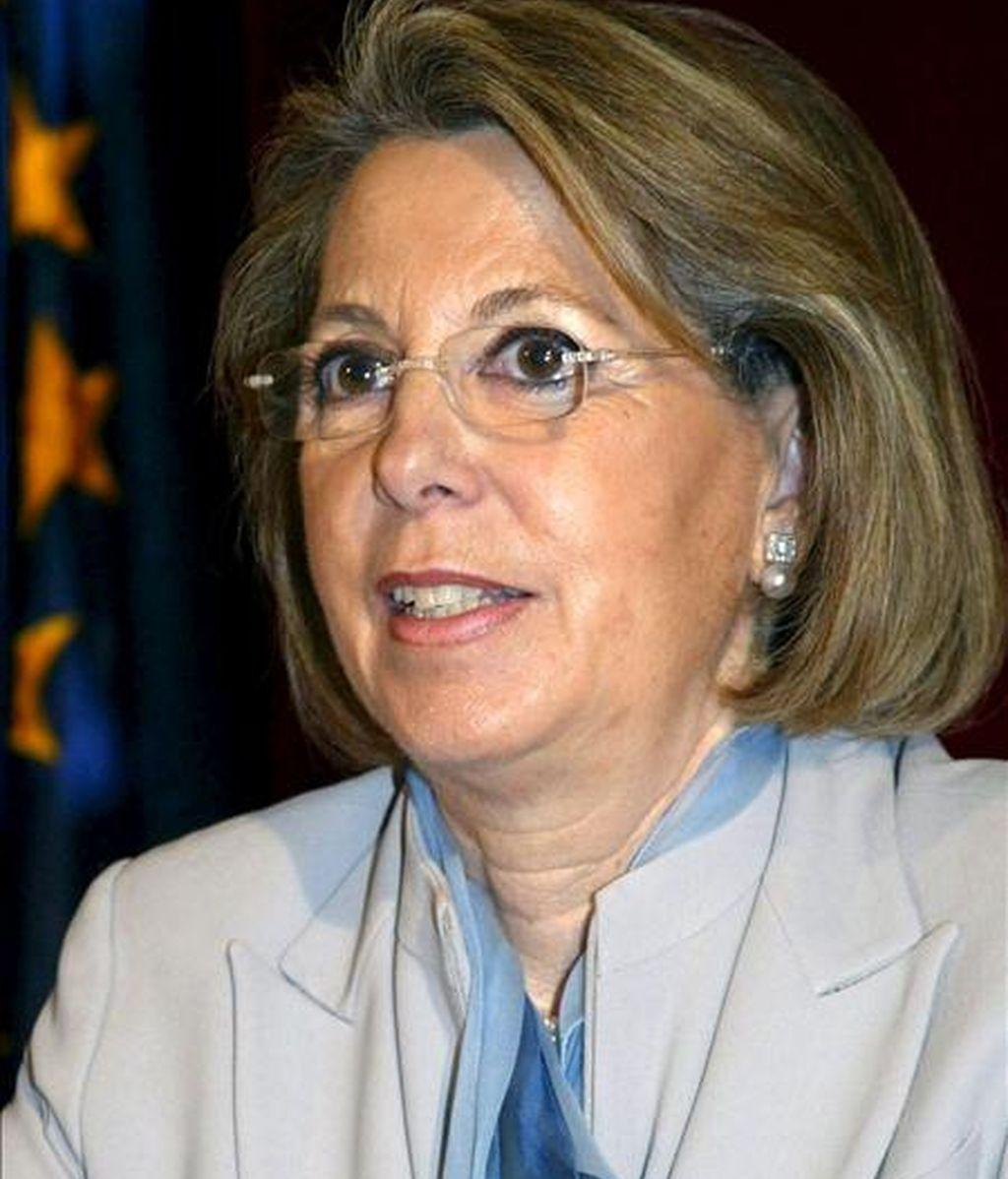 La que fue ministra de Administración Públicas y delegada del Gobierno en Cataluña durante los mandatos del PP, Julia García-Valdecasas. EFE/Archivo