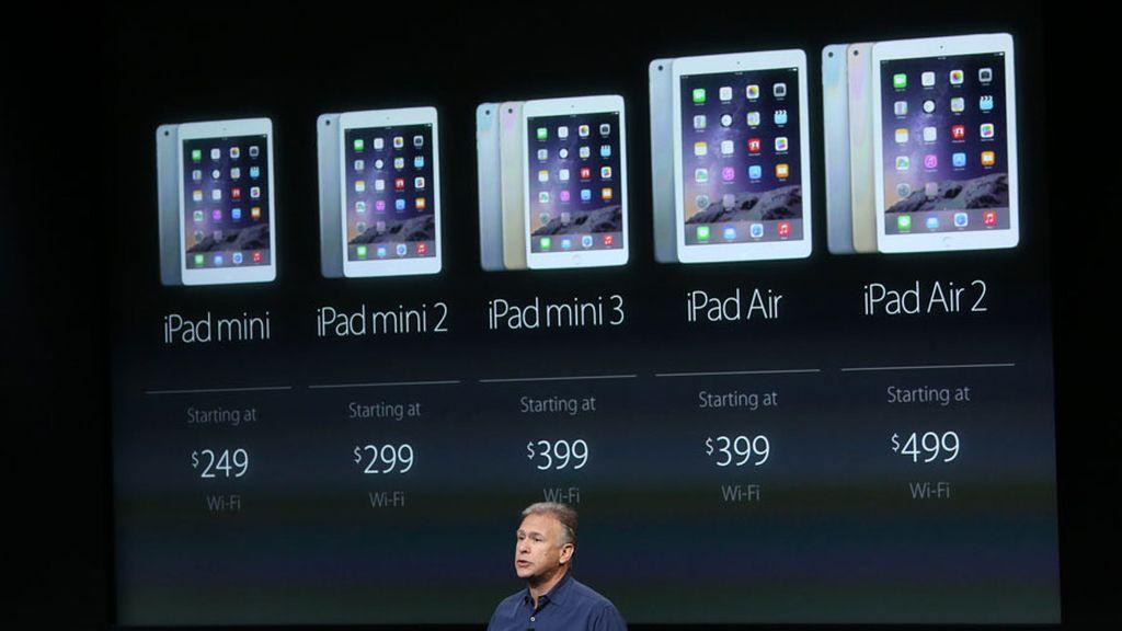 Apple presenta los nuevos iPad