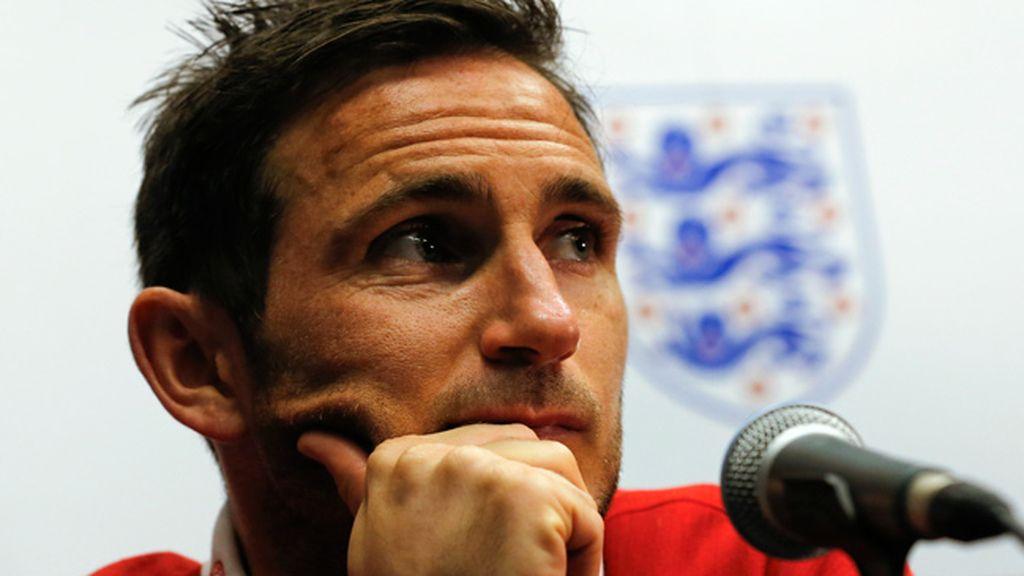 Lampard anuncia su retirada de la selección inglesa