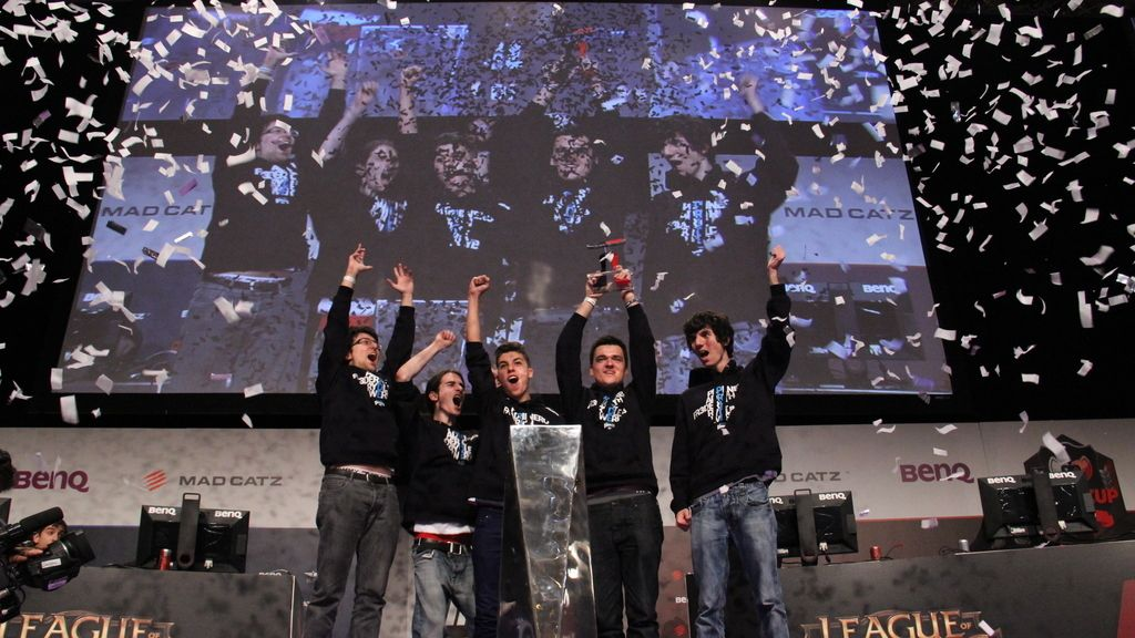 Giants, Gamergy, campeón, trofeo, Final Cup, League of Legends