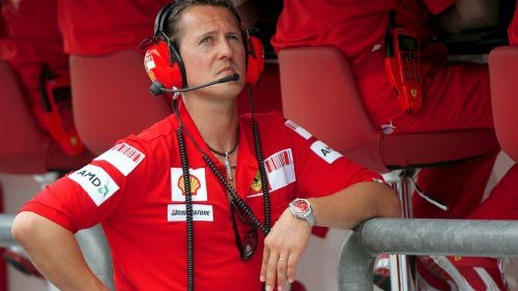 Schumacher, durante el GP de Australia. Foto: EFE