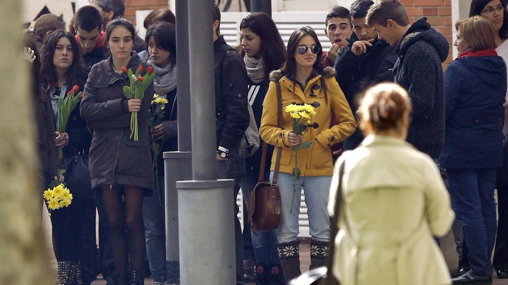 Despedida a Cristina Arce, una de las fallecidas en la macrofiesta de Madrid Arena