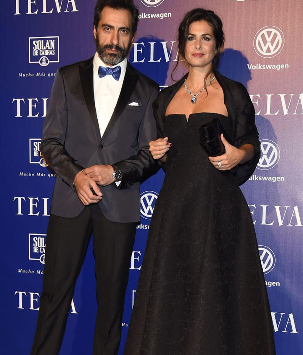 Nuria Roca con su marido Juan del Val