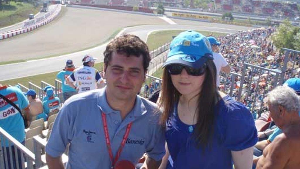 Siguiendo las carreras con Telecinco