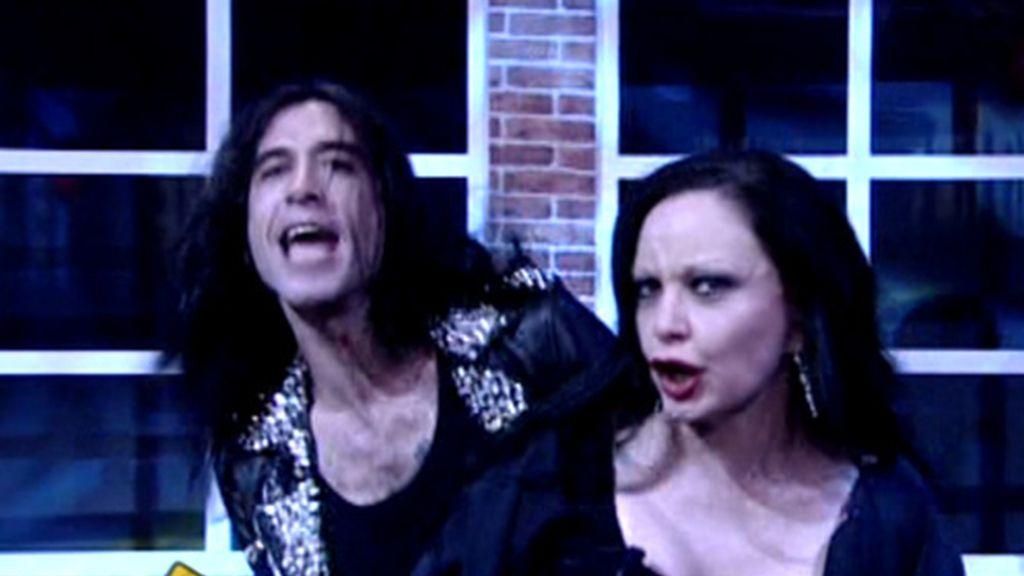 Alaska y Mario Vaquerizo, estrellas invitadas en el musical de Ghost de El Hormiguero