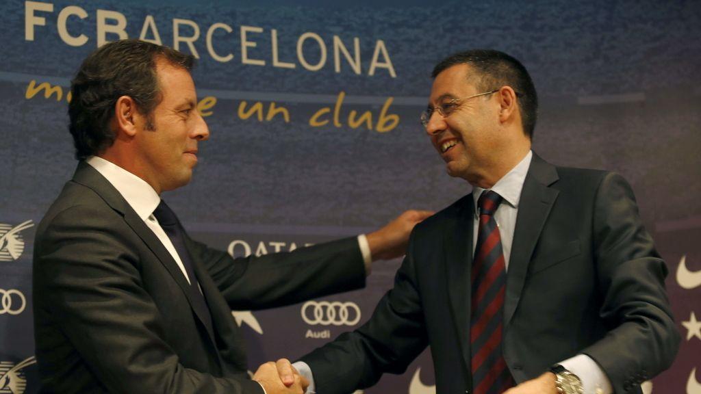 Sando Rosell dimite como presidente del FC Barcelona