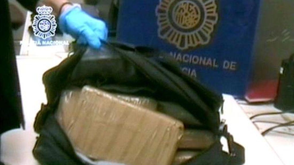 En la imagen, la cocaína incautada por la Policía el pasado mes de febrero en Madrid. EFE/MINISTERIO DEL INTERIOR