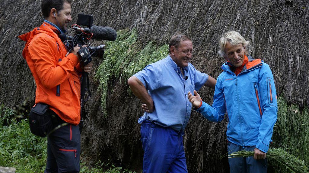 Jesús Calleja viaja hasta el Parque Natural de Somiedo en 'Volando voy'