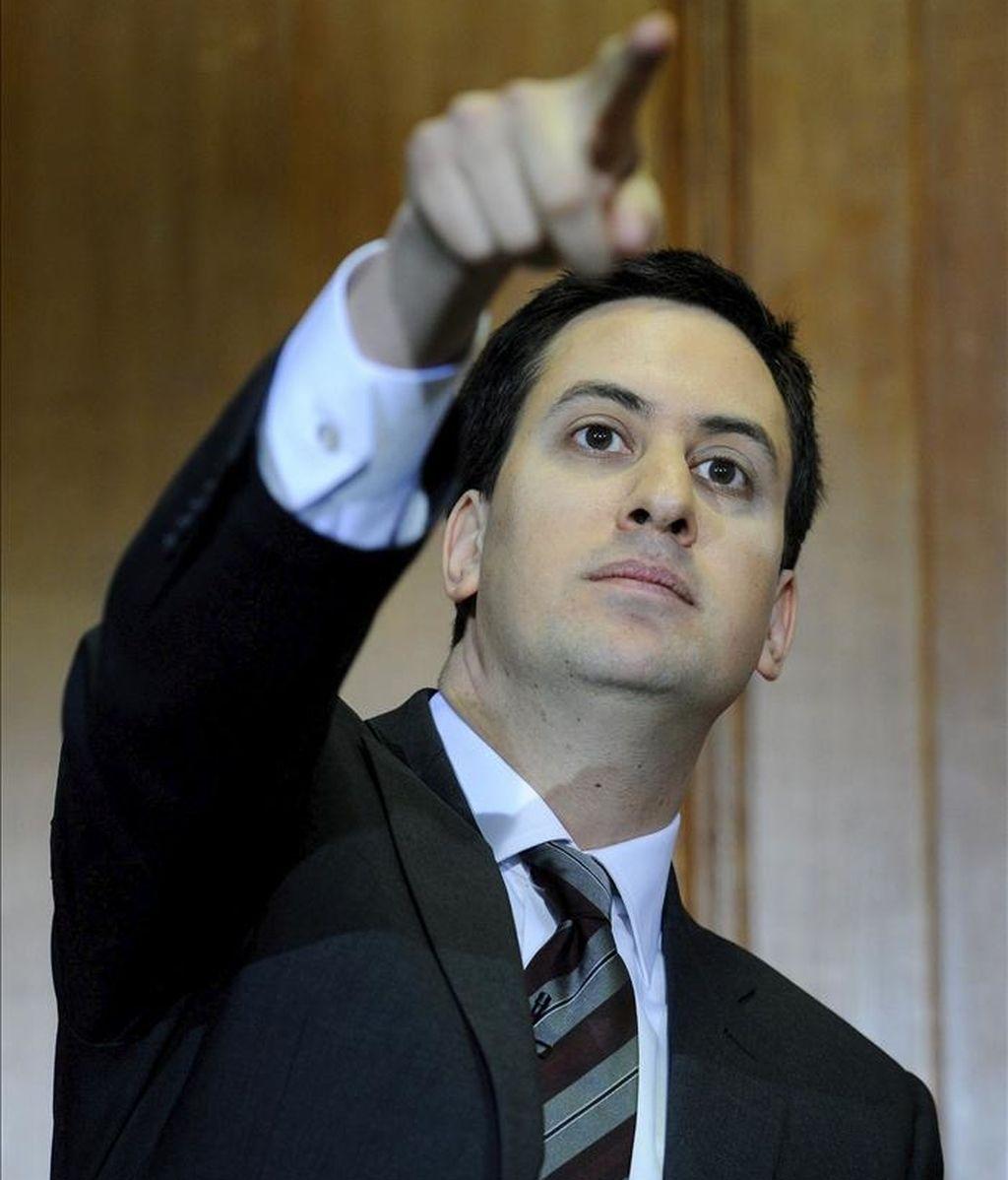 El líder laborista, Ed Miliband. EFE/Archivo