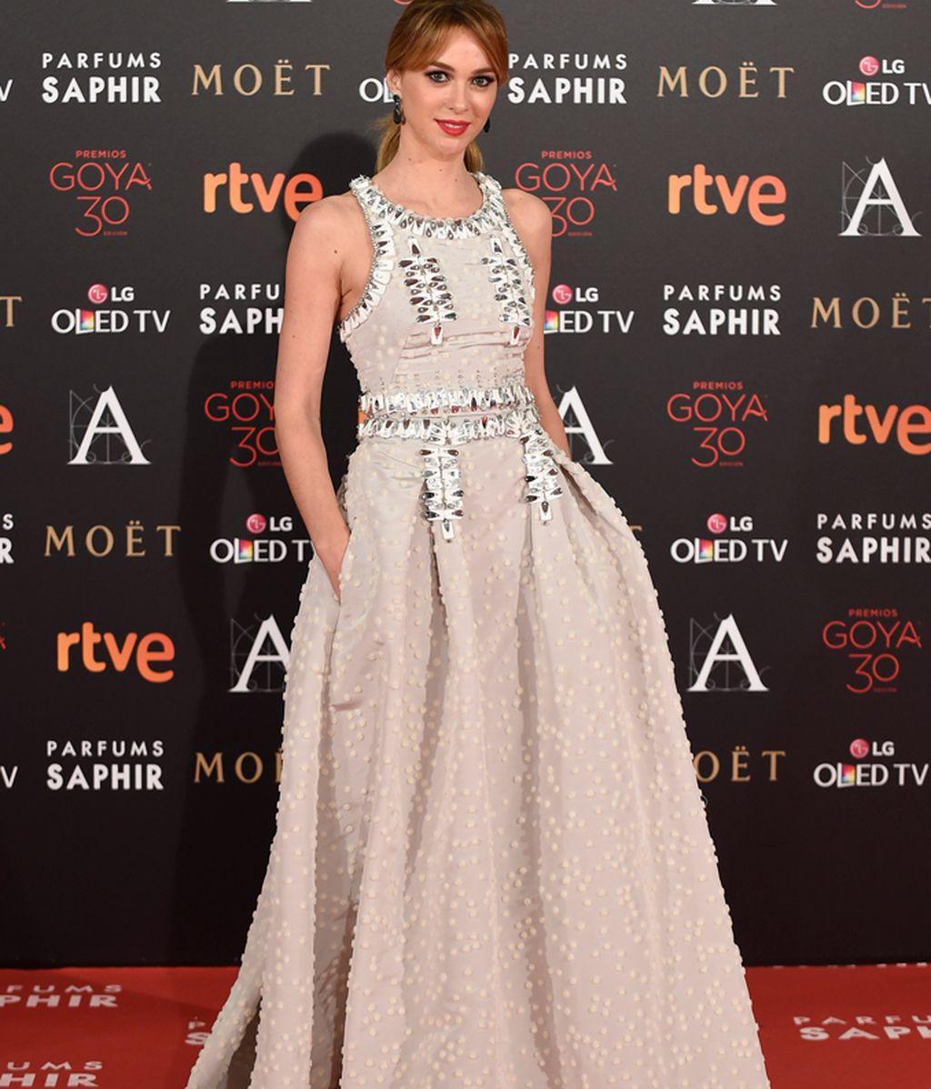 Marta Hazas con vestido de House of Herrera
