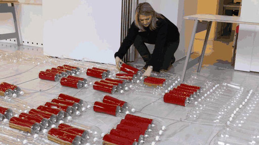 Las propuestas vanguardistas de Maria Cristina Finucci en ARCO 2014