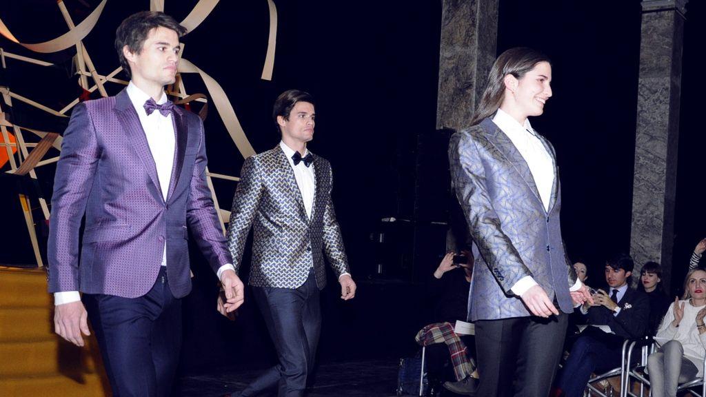 Una vez más los diseños de García Madrid recibieron los aplausos más unánimes