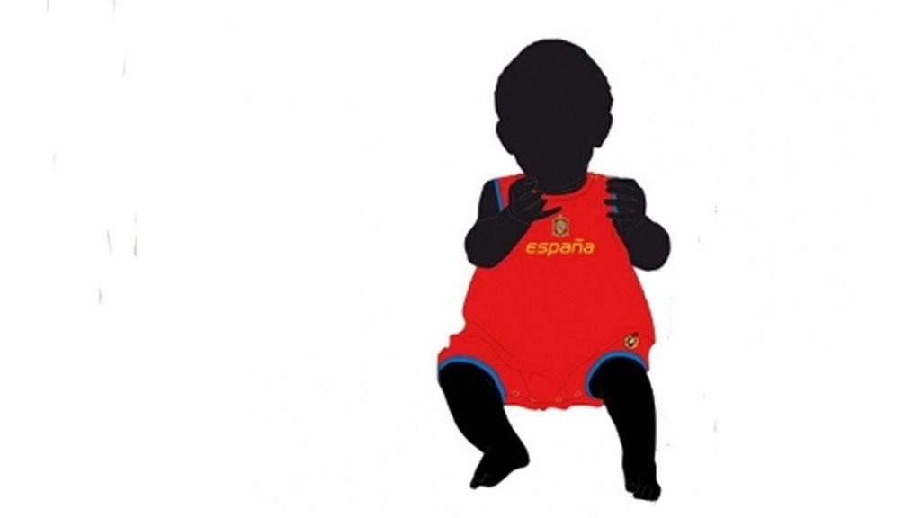 Peto para que los bebés también animen a La Roja